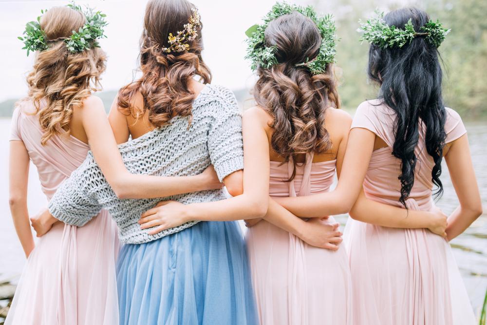 Right Bridesmaid Hairstyles